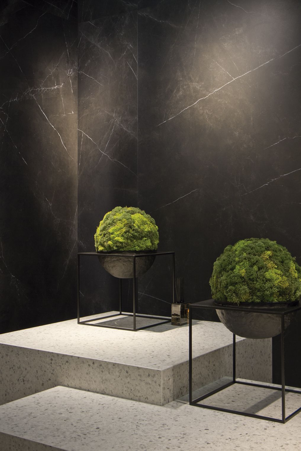 Inalco in LivingKitchen 2017 Storm Series as wall tiles