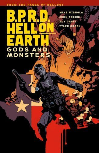 B.P.R.D. Hell on Earth Volume 2: Gods and Monsters by Mike Mignola, http://www.amazon.com/dp/1595828222/ref=cm_sw_r_pi_dp_OZxVqb1FMQNTT