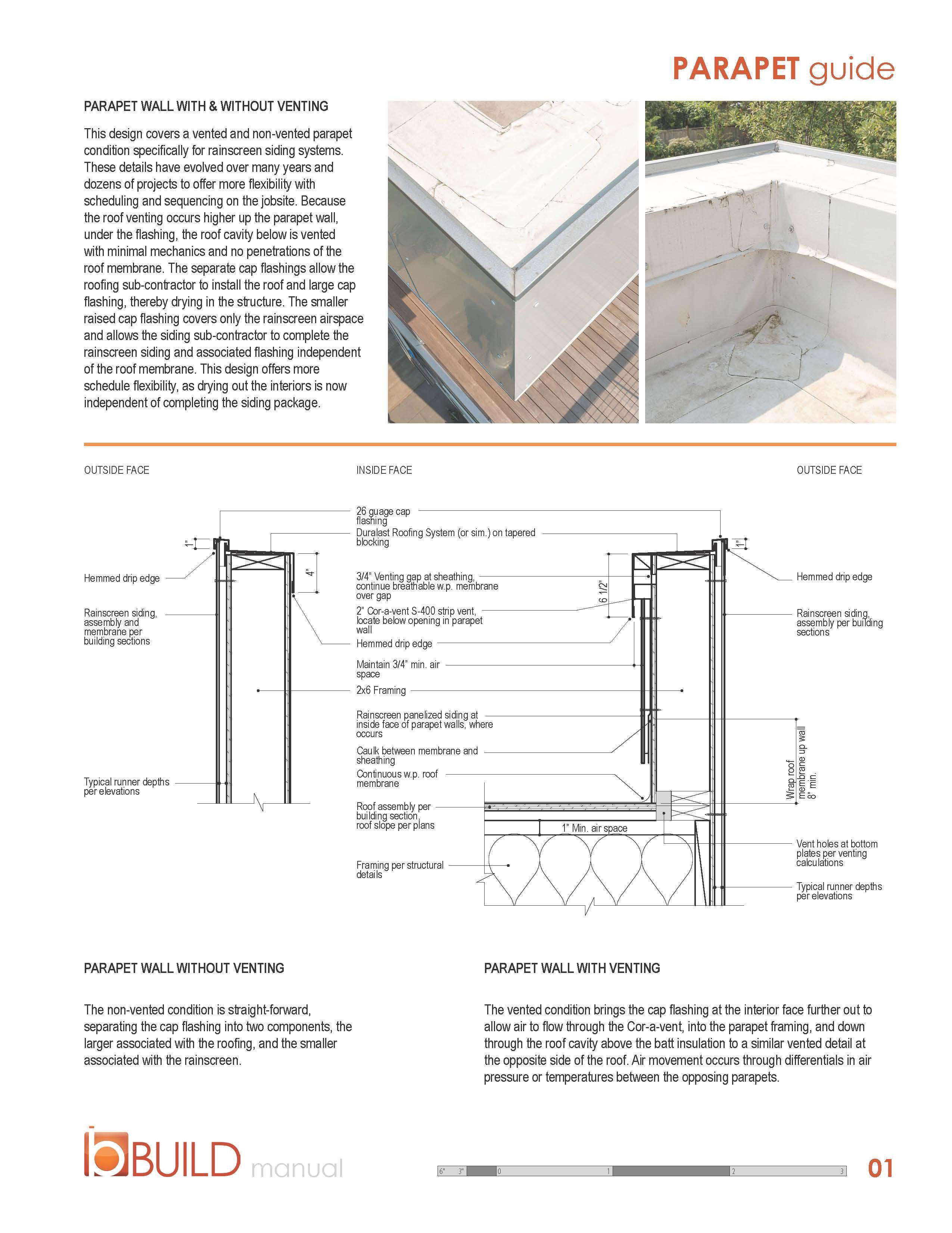 Parapet Manual Jpg 2550 3300 Parapet Rainscreen Design