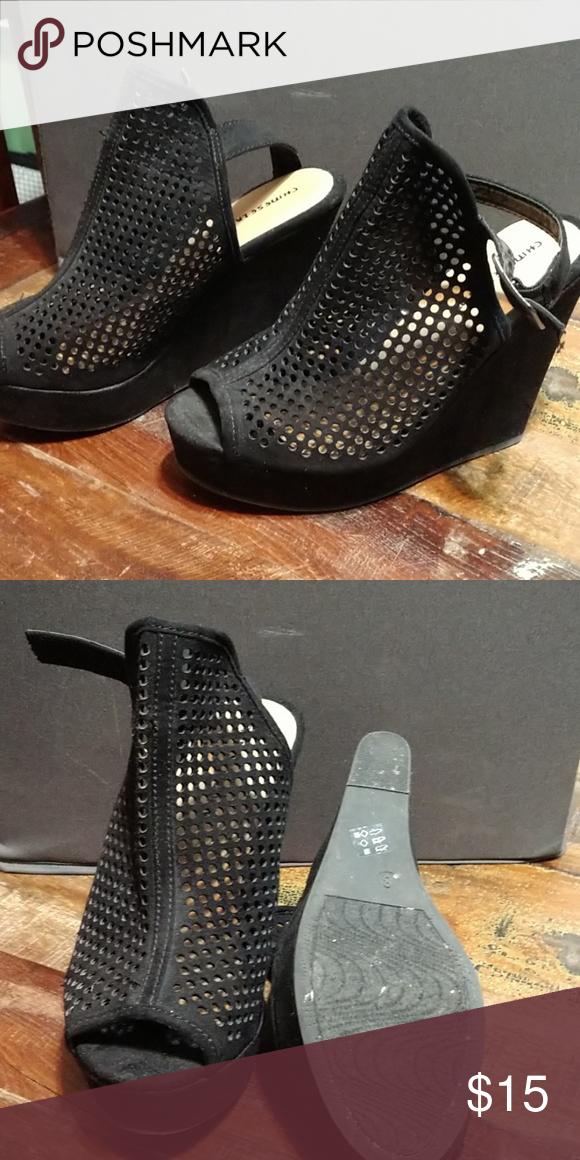 Black Wedges Black Wedges Chinese Laundry Shoes Wedges