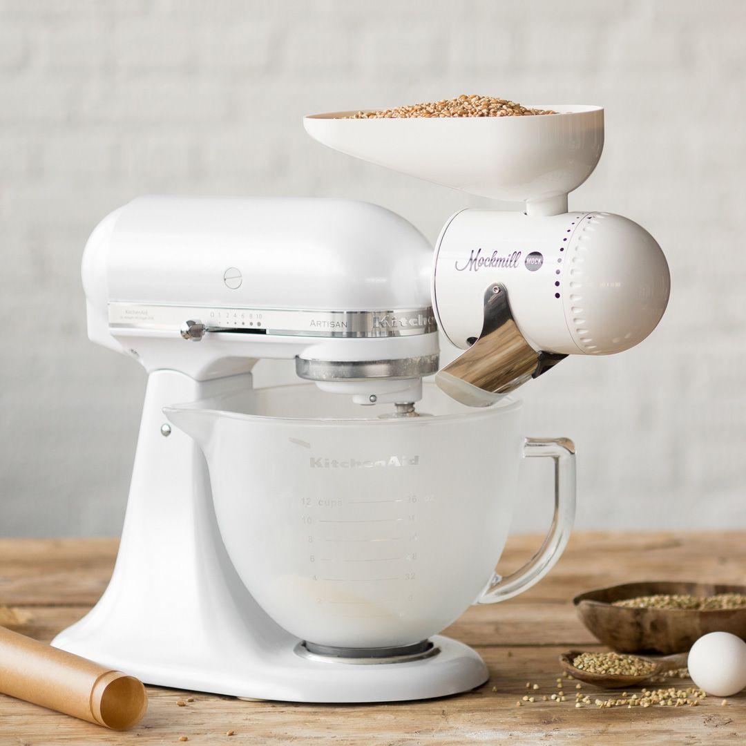Im Test Die Mockmill Getreidemuhle Fur Deine Kuchenmaschine