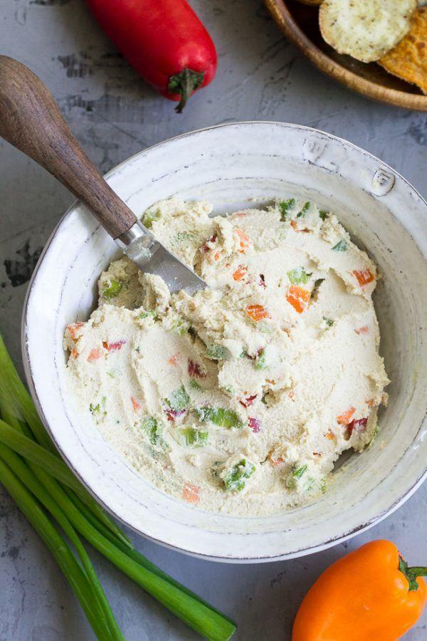 Photo of Veggie Cashew Cream Cheese {Paleo & Vegan} | Paleo Running Momma