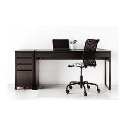 Micke Desk Black Brown 55 7 8x19 5 8 Ikea Micke Desk Black Desk Ikea Desk