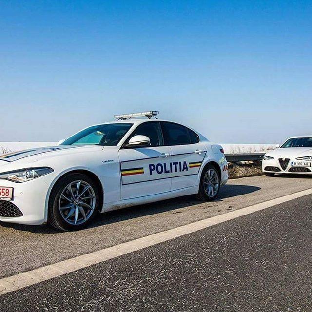 Alfa Romeo Giulia Politia Police Cars Politie Auto S