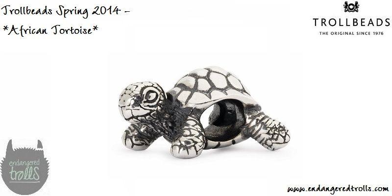 Trollbeads Spring 2014 African Tortoise