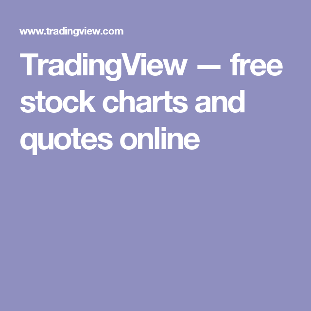 TradingView — free stock charts and quotes online | FINANCE - MONEY