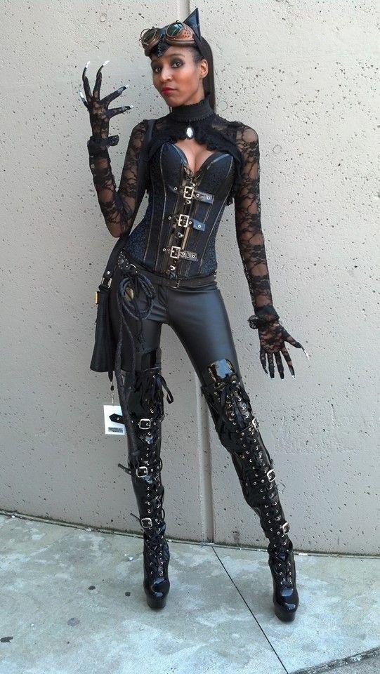 pin von diana auf steampunk catwoman pinterest hohe. Black Bedroom Furniture Sets. Home Design Ideas