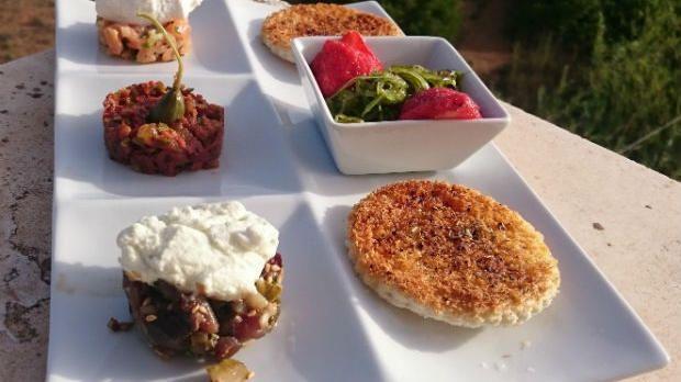 Rezept Tatarvariationen Mit Algensalat Rezepte Perfektes Dinner Rezepte Das Perfekte Dinner