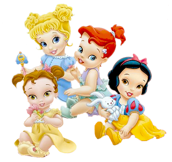 Princesas Disney Baby Princesas Disney Desenho Animado Disney