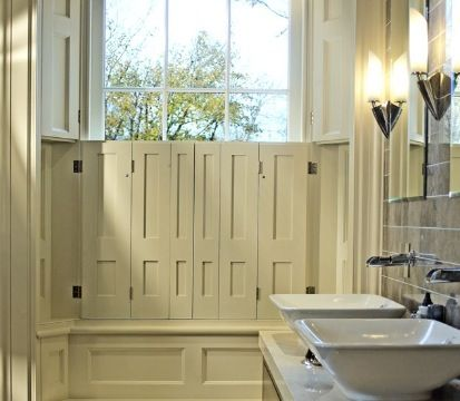 Bathroom Joinery bathroom half shutter detailhayburn & co. | bath | pinterest