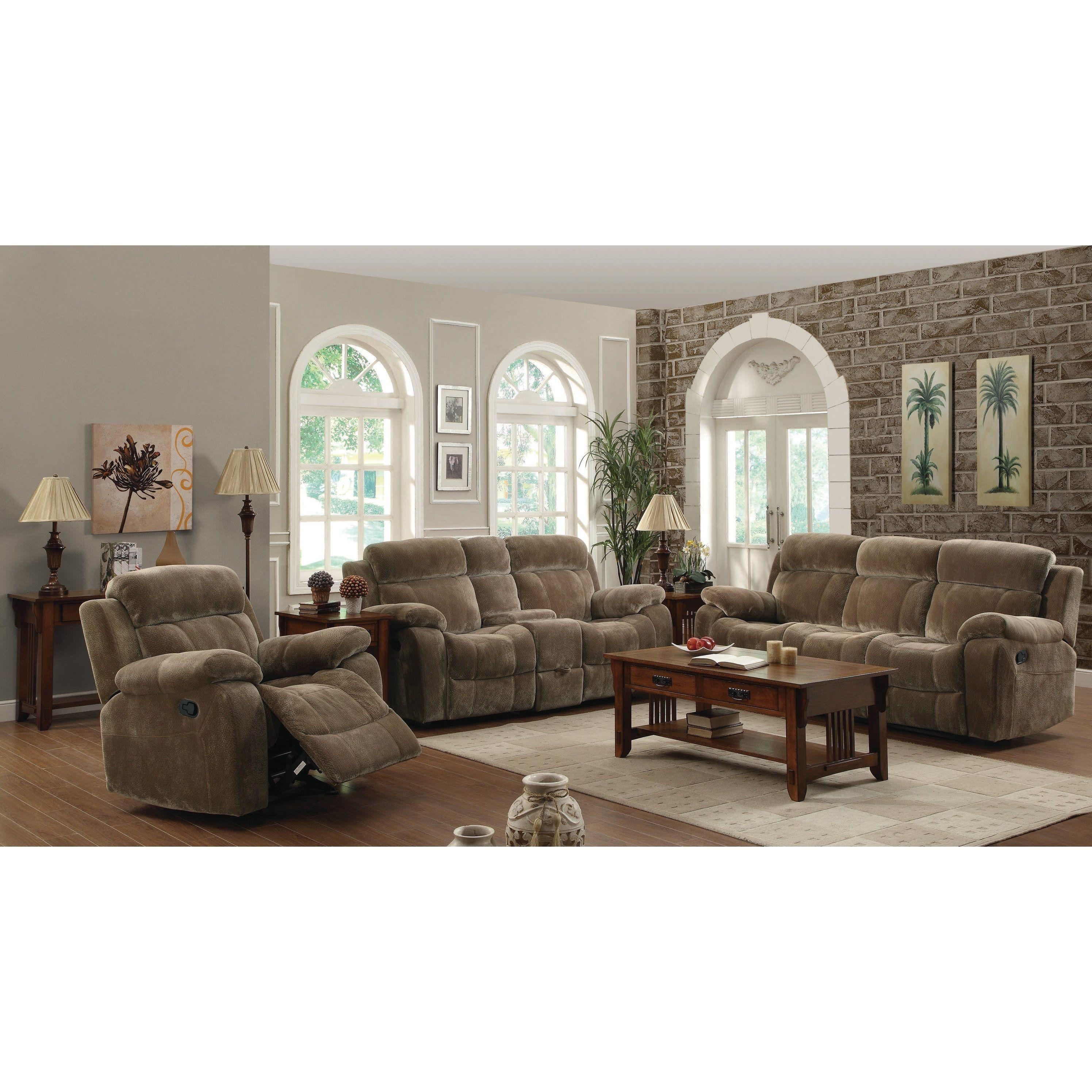 10+ Most Popular Reclining 3 Piece Living Room Set