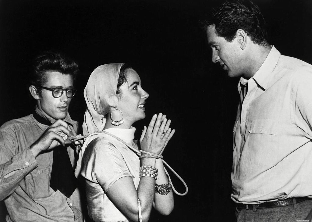 Fooling Around On The Set Of Quot Giant Quot James Dean