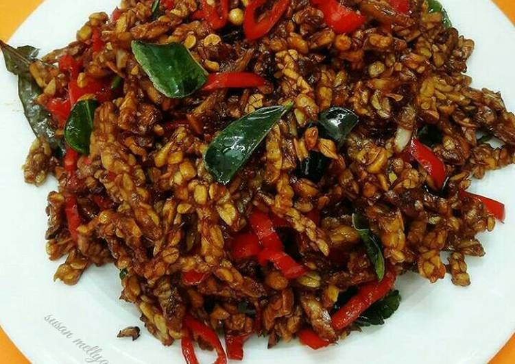 Resep Kering Tempe Pedas Manis Oleh Susan Mellyani Resep Resep Masakan Resep Masakan Indonesia Resep Makanan