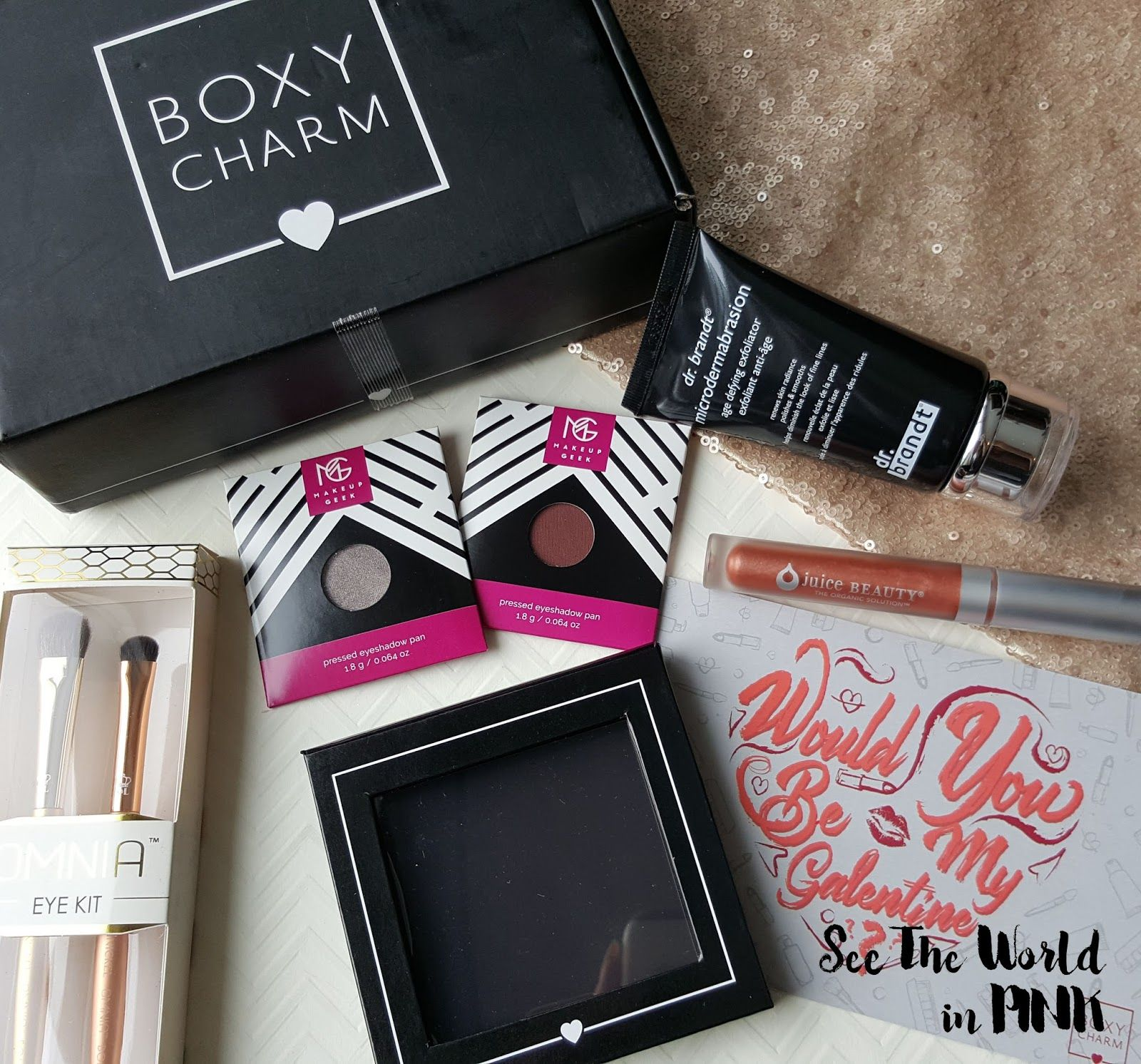 February 2017 Boxycharm Unboxing and Review Beauty box