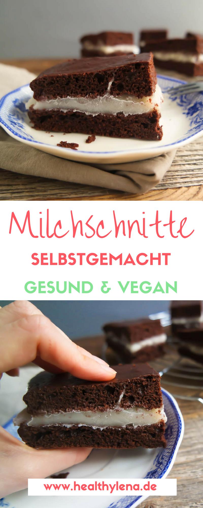 Vegane Milchschnitte Einfach Gesund Lecker Lecker Milchschnitte Kuchen Mit Wenig Zutaten