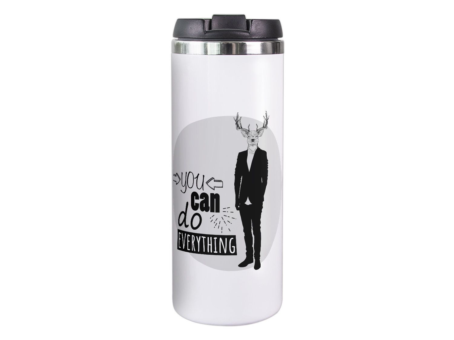 Thermo Mug Elk Coffee Mug With Saying Coffee To Go Mug Gift For Dad For Him Father S Day Colleague Insulated Thermo Mug On The Go In 2020 Mugs Coffee To Go