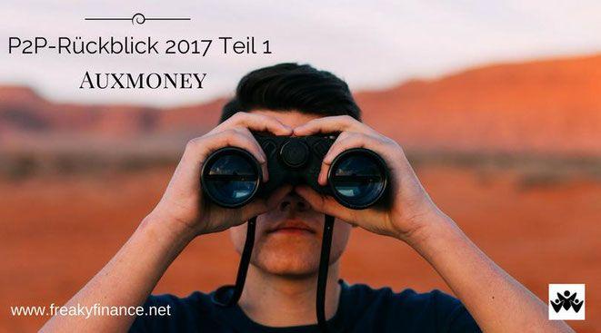 Auxmoney Geld Anlegen Erfahrungen