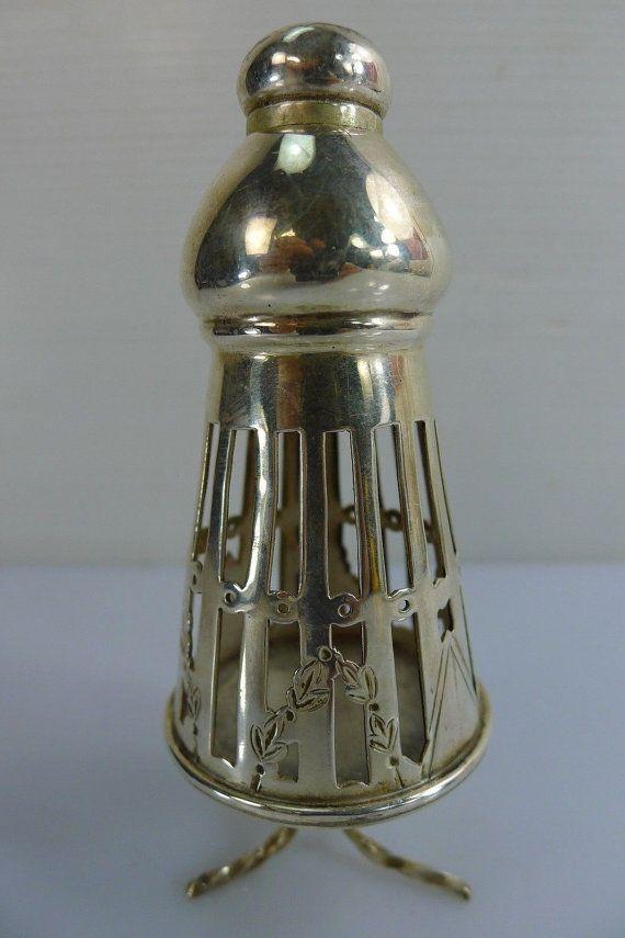 Tower Besamim Spice Silver Judaica Box Antique Filigree Sterling Rare Vintage Havdala 122519006114783