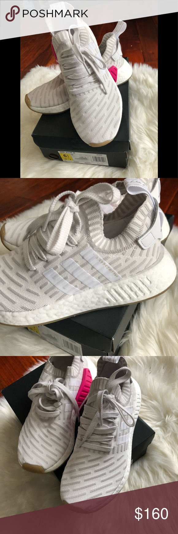 a3490ea2b Adidas NMD his adidas NMD R2 comes with an Cream Primeknit upper and design  features such