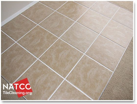 How To Clean A Ceramic Tile Floor And Grout Cleaning Ceramic