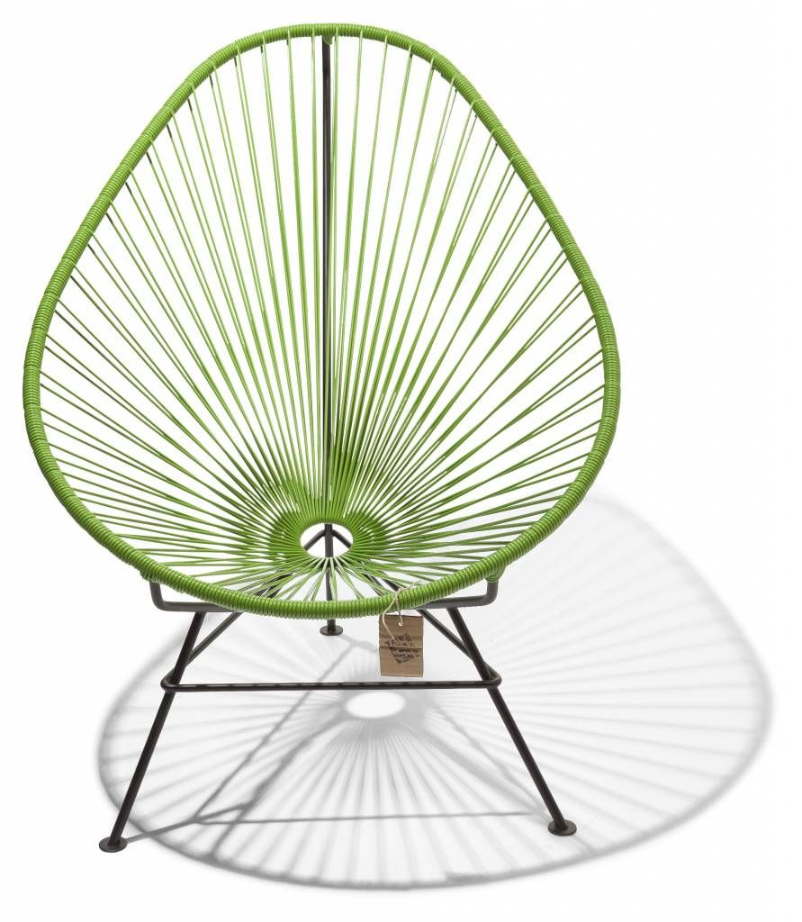 Fauteuil Acapulco vert olive | Home Sweet home | Chaise acapulco ...