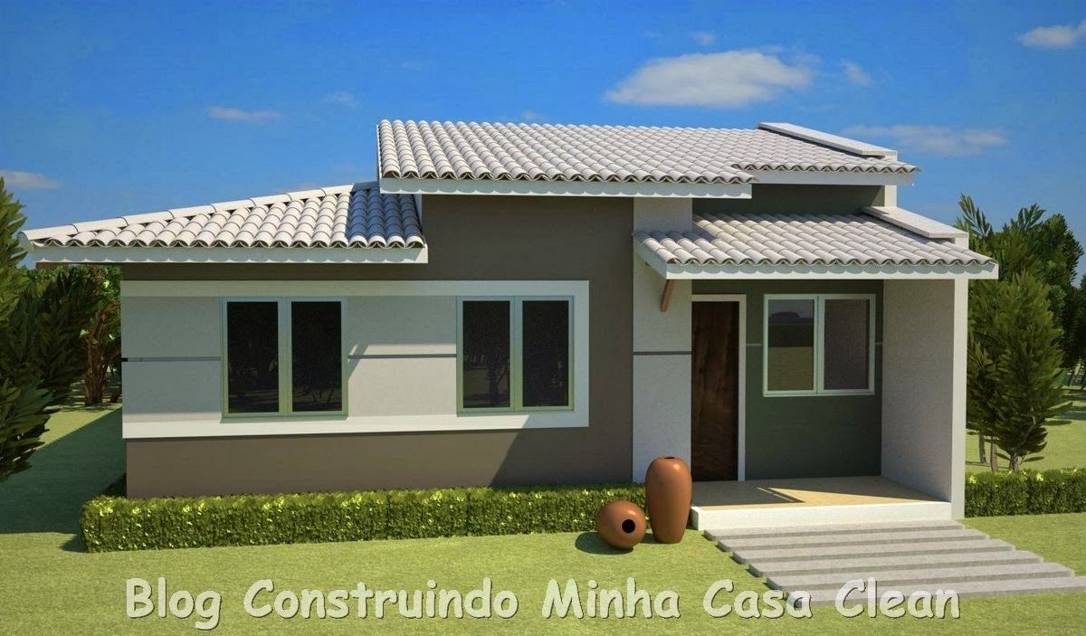 20 fachadas de casas pequenas e super modernas casa for Fachadas casa modernas pequenas