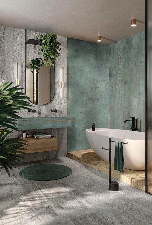"""Stone and marble effect tiles. Color: grey (grey vein). 47.24"""" × 106.3"""""""