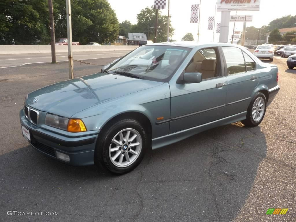 1997 bmw colors 1997 bmw 3 series 318i sedan morea green metallic color