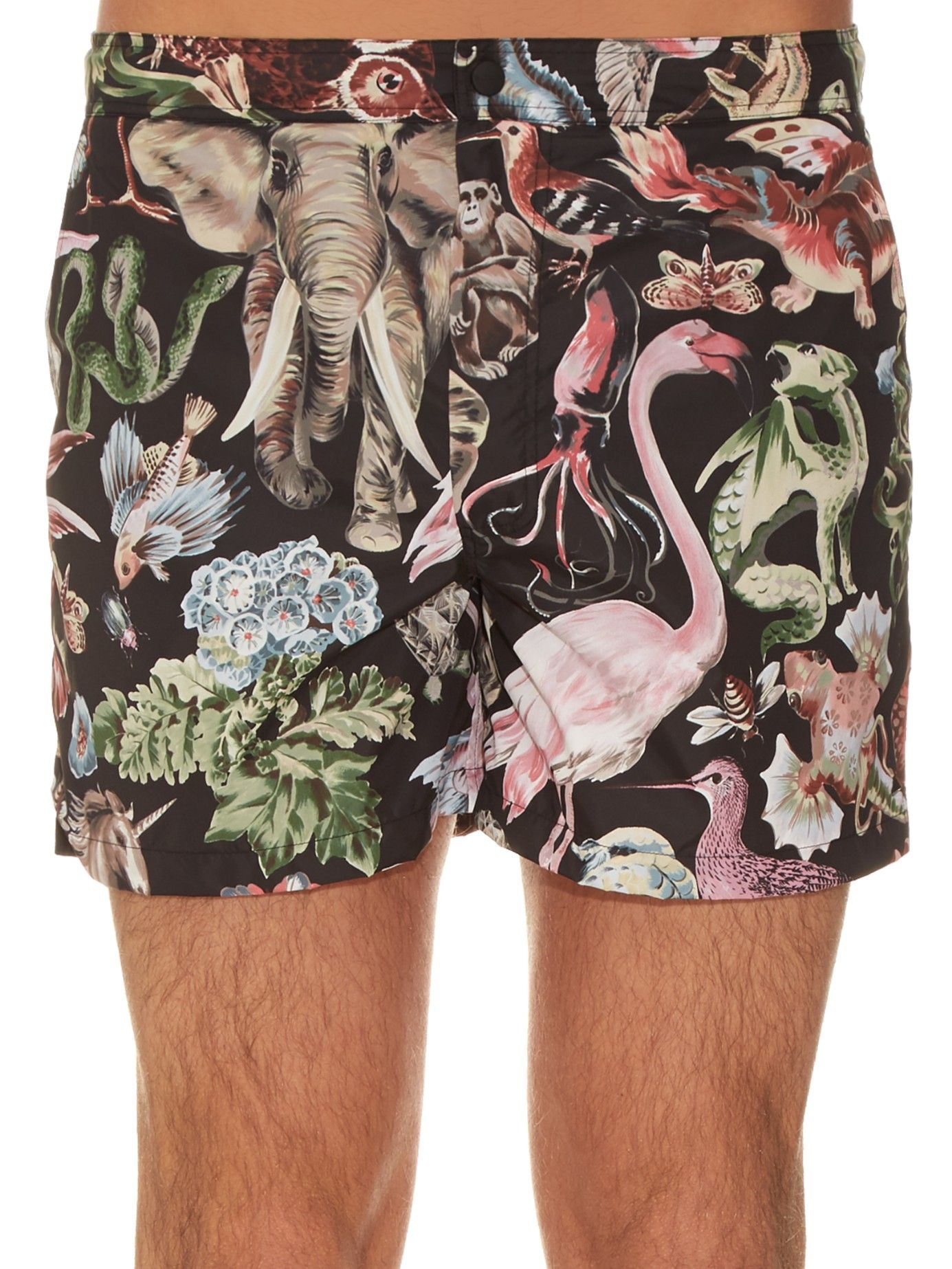 b37ae3e545 Fantastic Animals-print swim shorts | Valentino | MATCHESFASHION.COM ...
