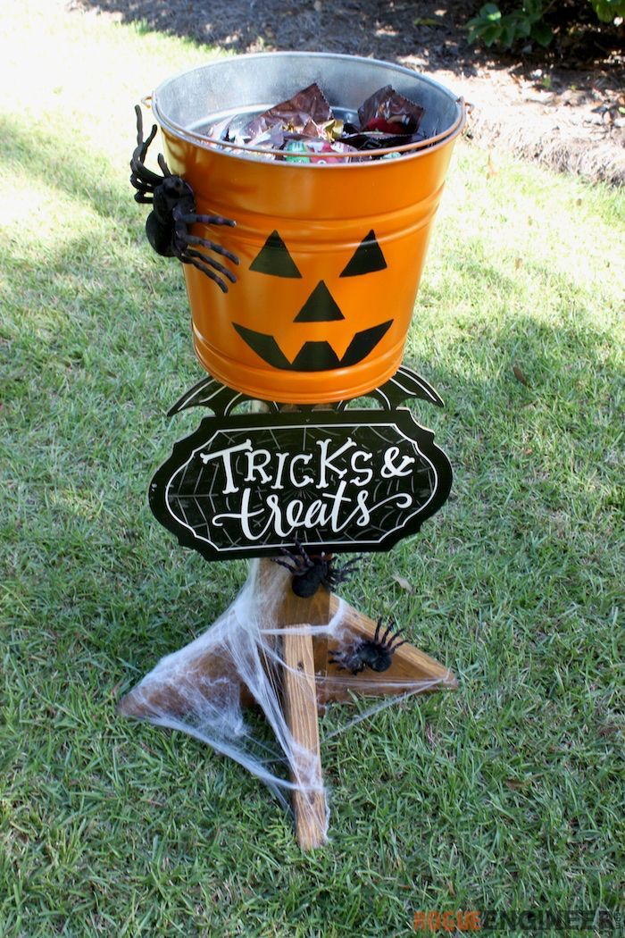 Halloween Candy Stand » Rogue Engineer Diy halloween