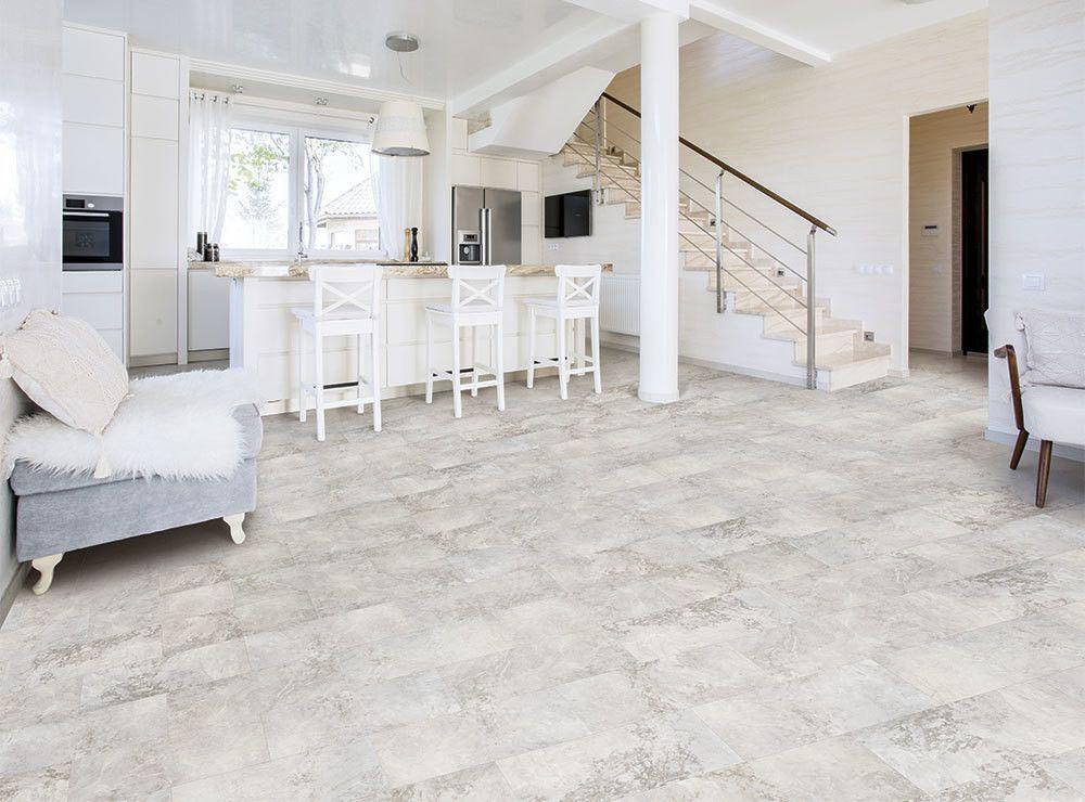 Cardinal Stone Vinyl tile flooring, Coretec flooring