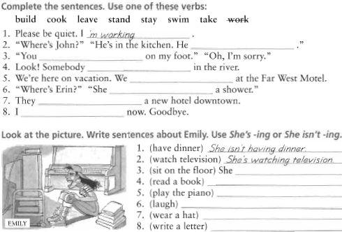 Present Continuous Present Continuous Tense Present Continuous Worksheets Present Continuous Worksheet