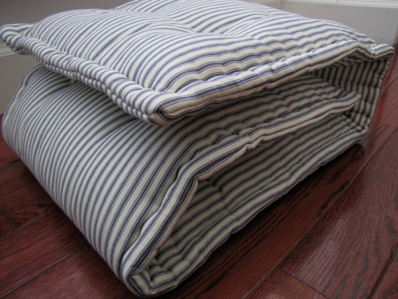Bench Pad Custom Bench Cushion Ticking Stripe Window Seat Cushion