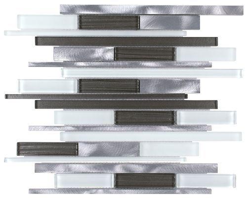 Aluminum Glass Mosaic Tile Millennium