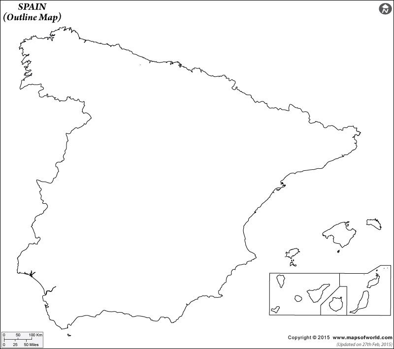Map Of Spain Drawing.Spain Outline Map Interested In My Blood Map Of Spain Map
