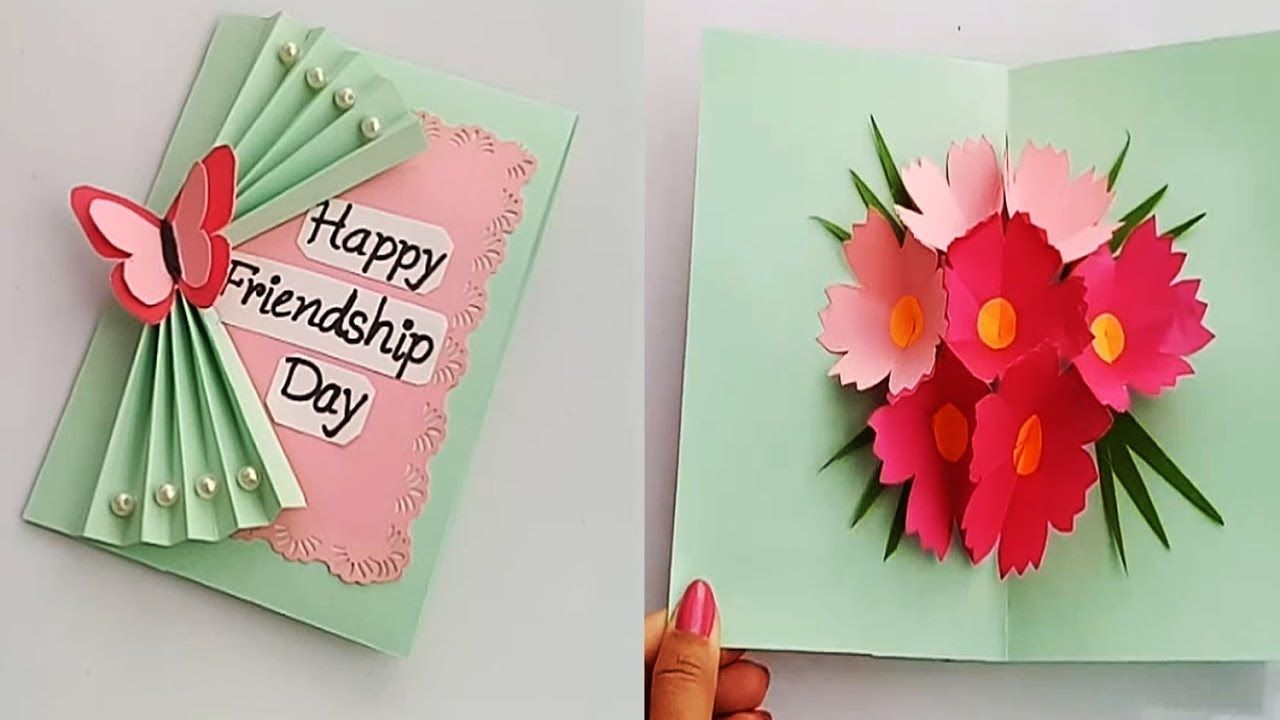 How To Make Friendship Day Special Pop Up Card Diy Friendship