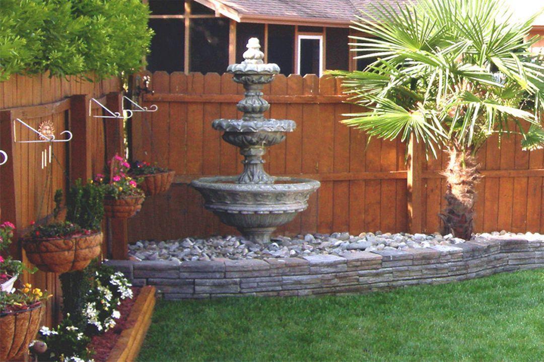 35 Amazing Outdoor Garden Water Fountains Ideas Garden 400 x 300