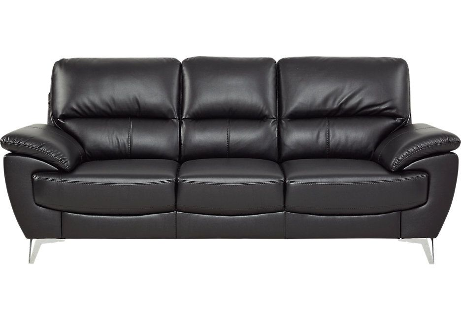 Black Leather Sofa A Magical Touch Of Style For Every Home In 2018 Leather Sofa Best Leather Sofa Black Leather Sofas