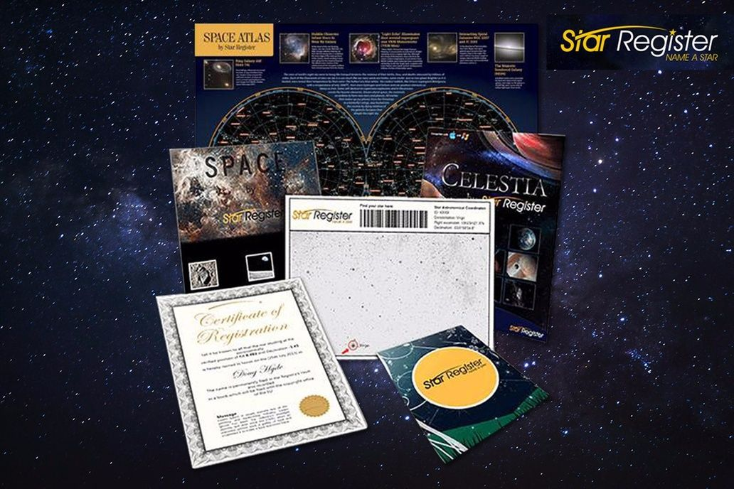 Name A Star Package Star Registry Stars Star Map