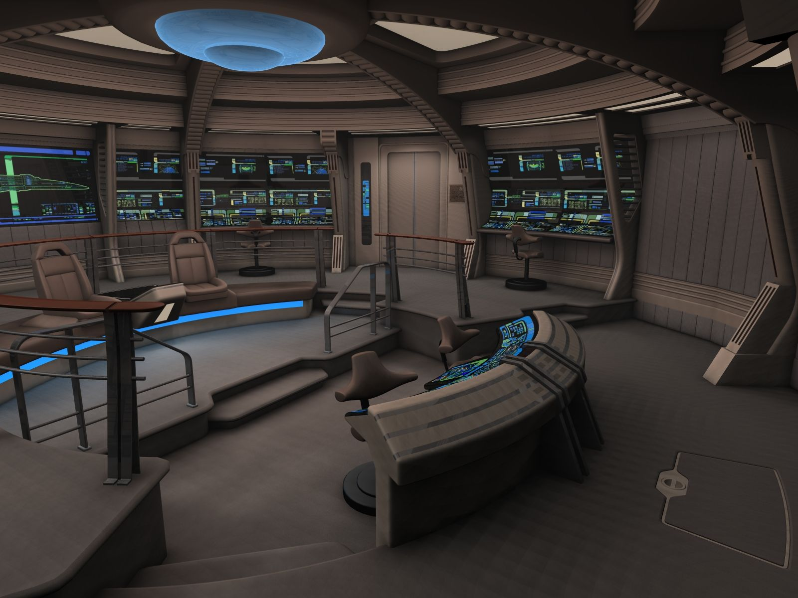 Bridge Of Nova Class Starship