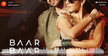 Kala Chashma mp3 download | Baar Baar Dekho | Badshah Neha Kakar