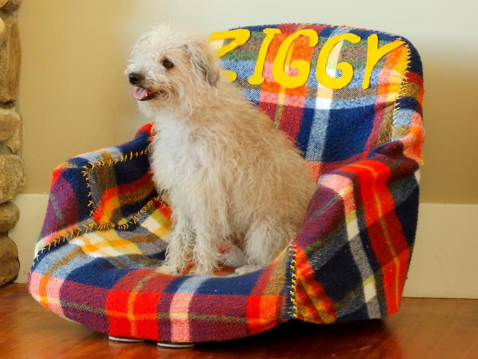 How to Turn Old Furniture Into New Pet Beds | Pinterest