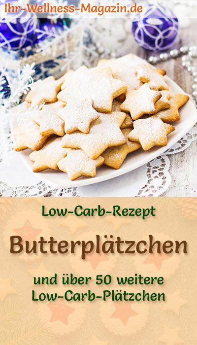 Low Carb Butterplätzchen - einfaches Rezept für Weihnachtskekse
