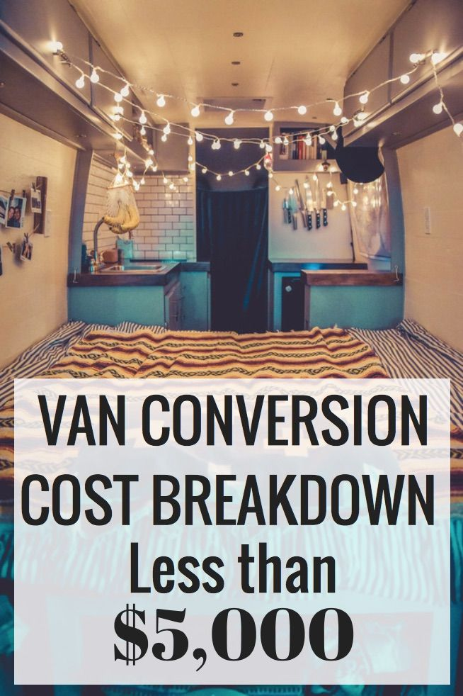 Everything You Ll Need For Your Van Conversion Full Cost Breakdown Under 5 000 Vanlife