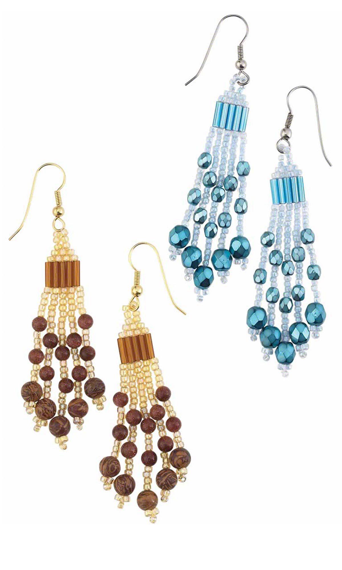 Oorbellen patroon native american earrings pinterest for Simple beaded jewelry patterns