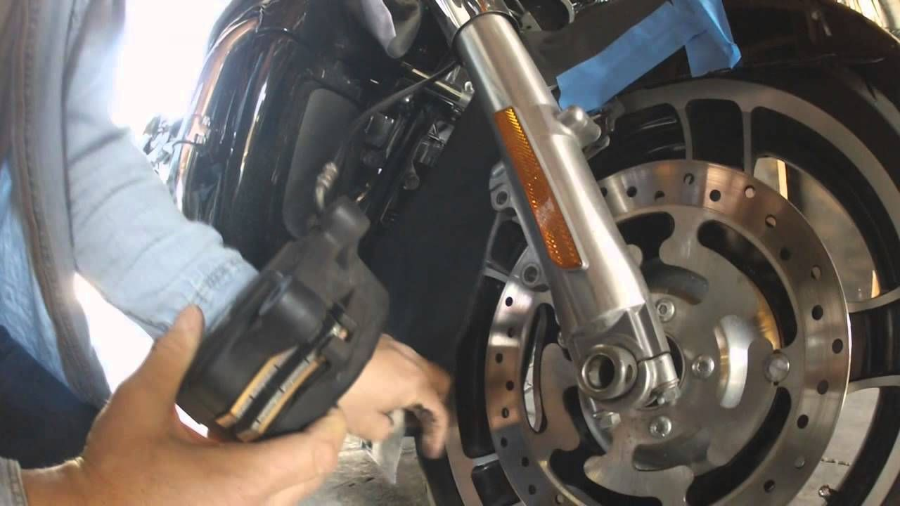 How to change the front brake pads on a harley davidson how to change the front brake pads on a harley davidson fandeluxe Image collections