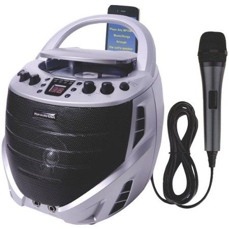 Karako USA Gq367 Portable Cd+g Karaoke Player, White