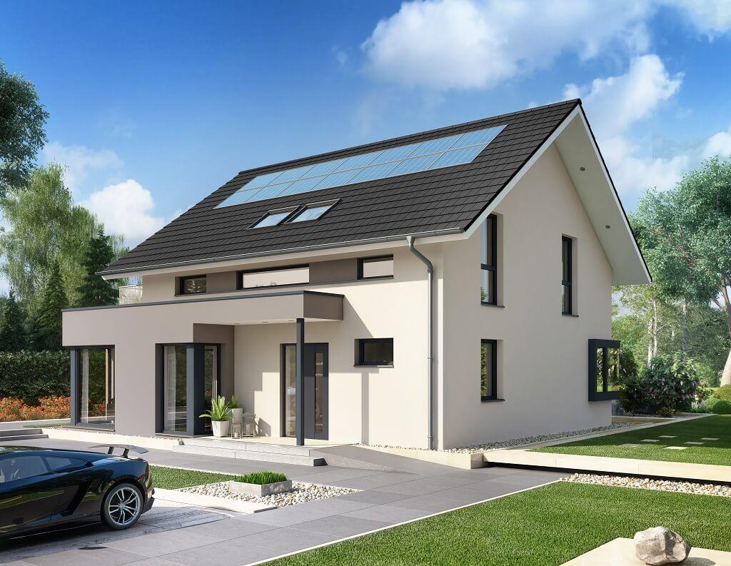 Verzauberkunst Hauseingang überdacht Dekoration Von Mit Satteldach // Concept-m 159 Bien Zenker