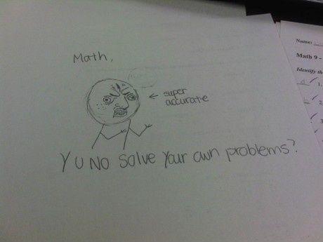 En af mine elever trak dette p� bagsiden af ??deres