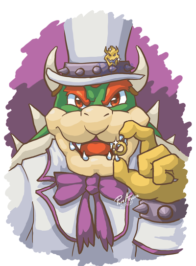 super mario odyssey bowser png
